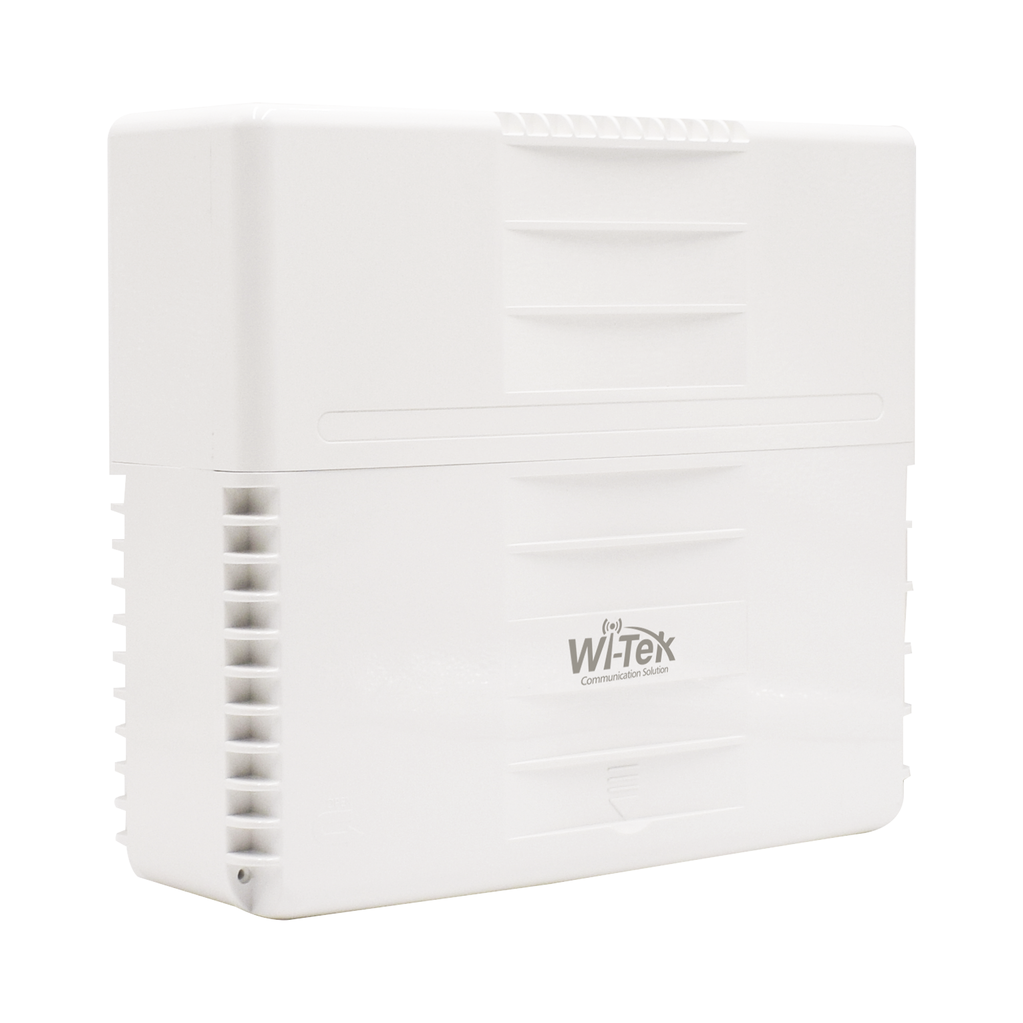 Switch PoE para exterior no administrable, con 8 puertos PoE (6 x fast ethernet + 2 x Gigabit), 3 puertos Uplink gigabit (2 puertos RJ45 + 1 puerto SFP), 120W