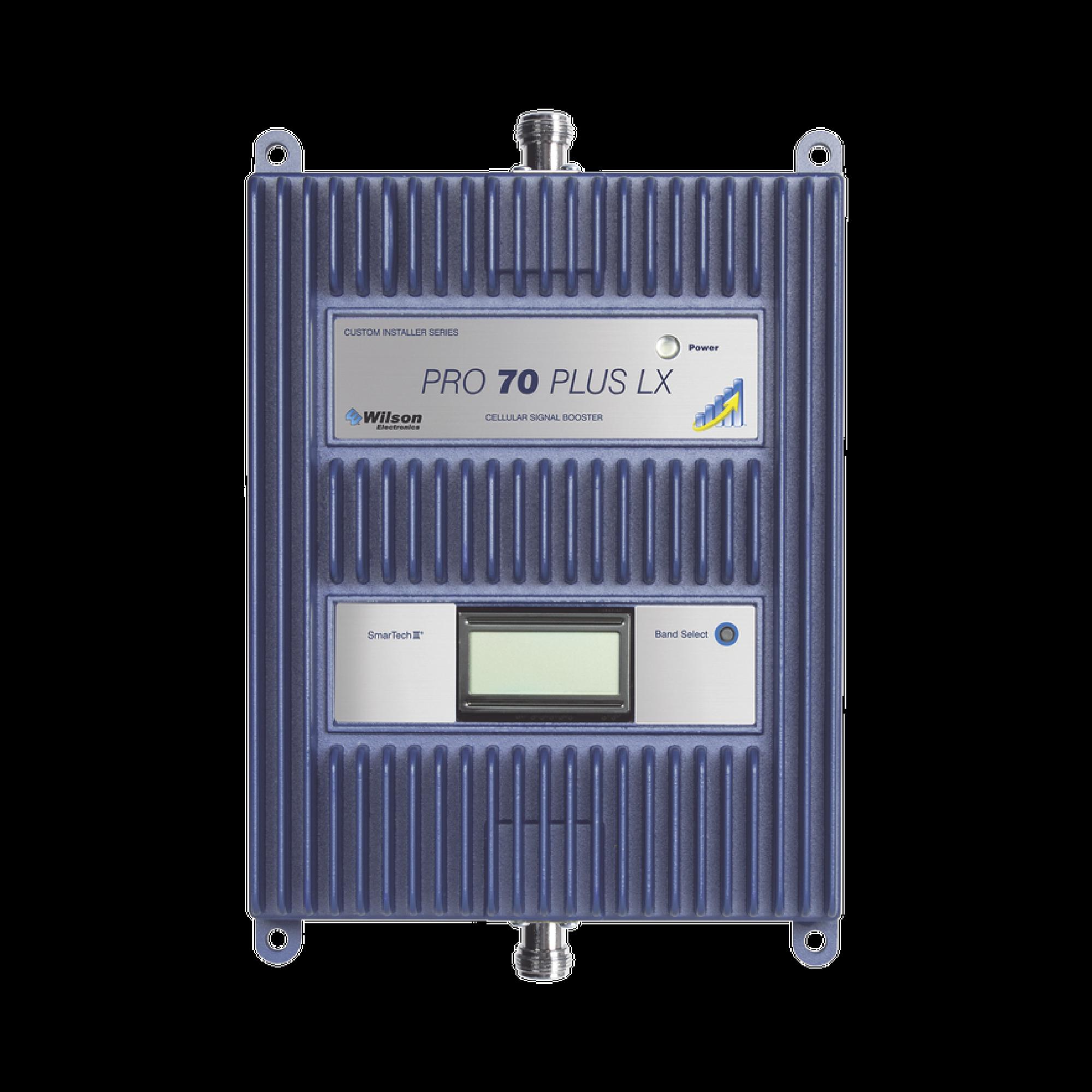Amplificador de señal celular 4G LTE, 3G y VOZ. Especial para cubrir áreas de hasta 5000 Metros Cuadrados por ser de grado comercial e industrial. Soporta multiples operadores, tecnologias y usuarios.