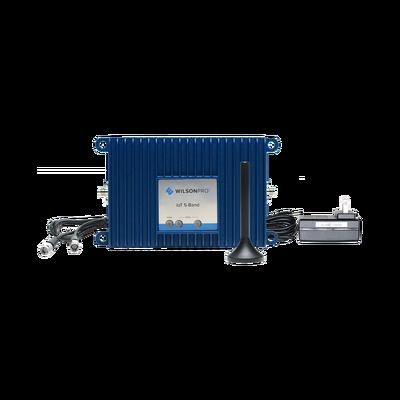 Kit Amplificador de señal celular 4G LTE y 3G de conexión directa. Especial para router, comunicador o módem celular IoT / M2M con conexión SMA hembra. Soporta un dispositivo y múltiples operadores.
