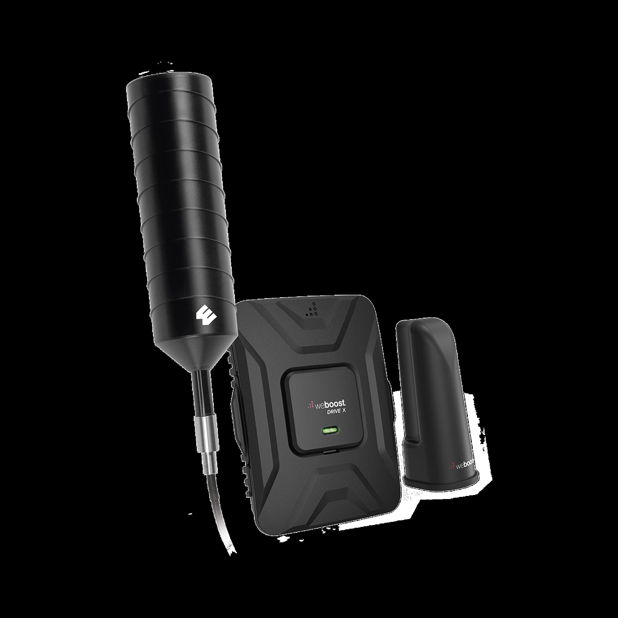 Kit de Amplificador de Señal Celular 4G LTE, 3G y Voz.  Ideal para vehículos recreacionales u oficinas móviles. 50 dB de Ganancia. Incluye todos los accesorios para su correcta instalación.