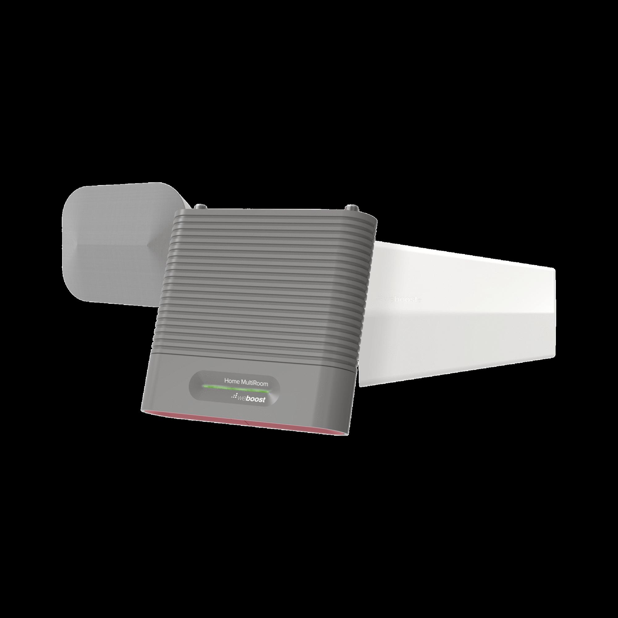 KIT Amplificador de Señal Celular, HOME MULTIROOM | Mejora la Señal Celular de todos los Operadores | Cubre áreas de hasta 1500 metros cuadrados