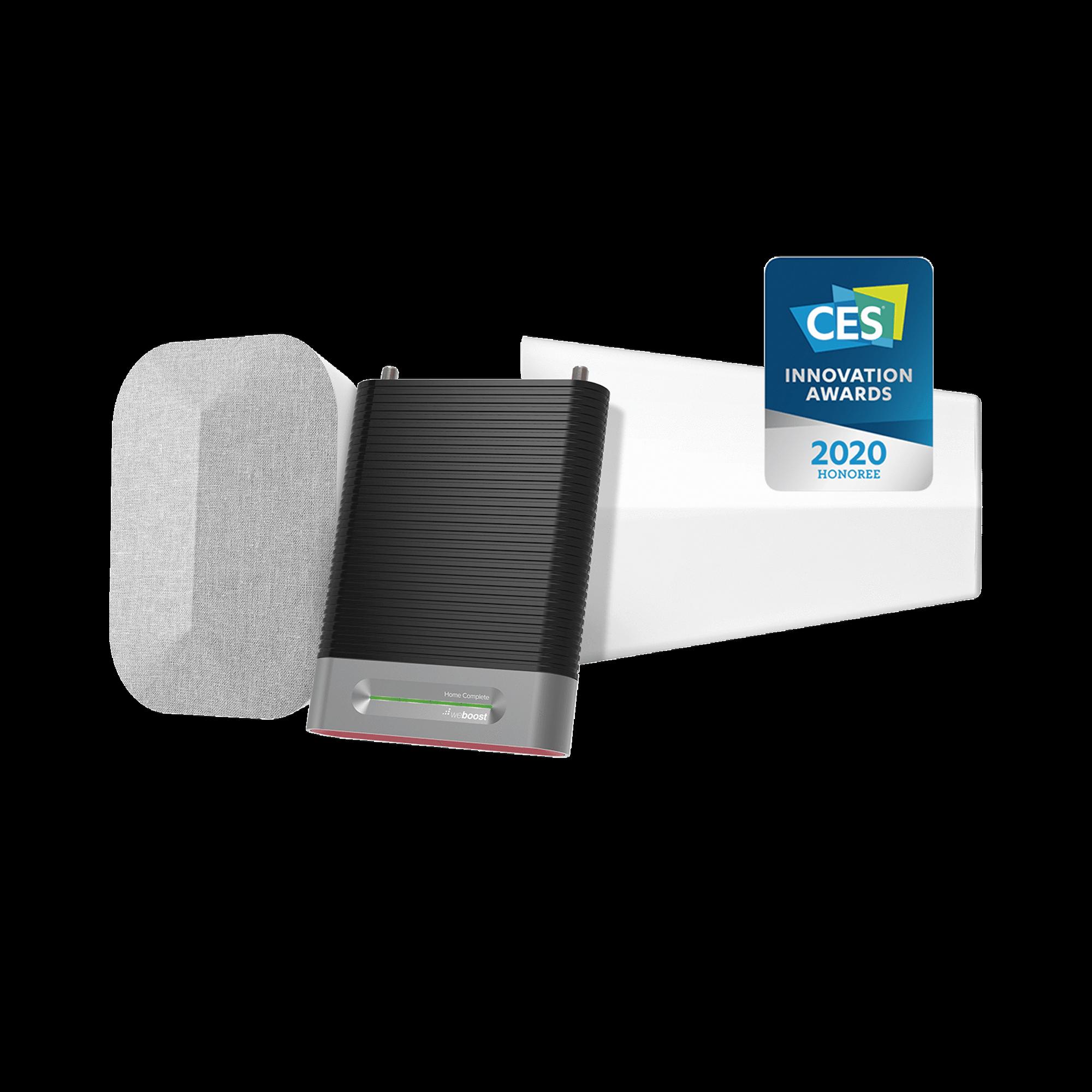 KIT Amplificador de Señal Celular, HOME COMPLETE | Mejora la Señal Celular de todos los Operadores | Cubre áreas de hasta 2780 metros cuadrados