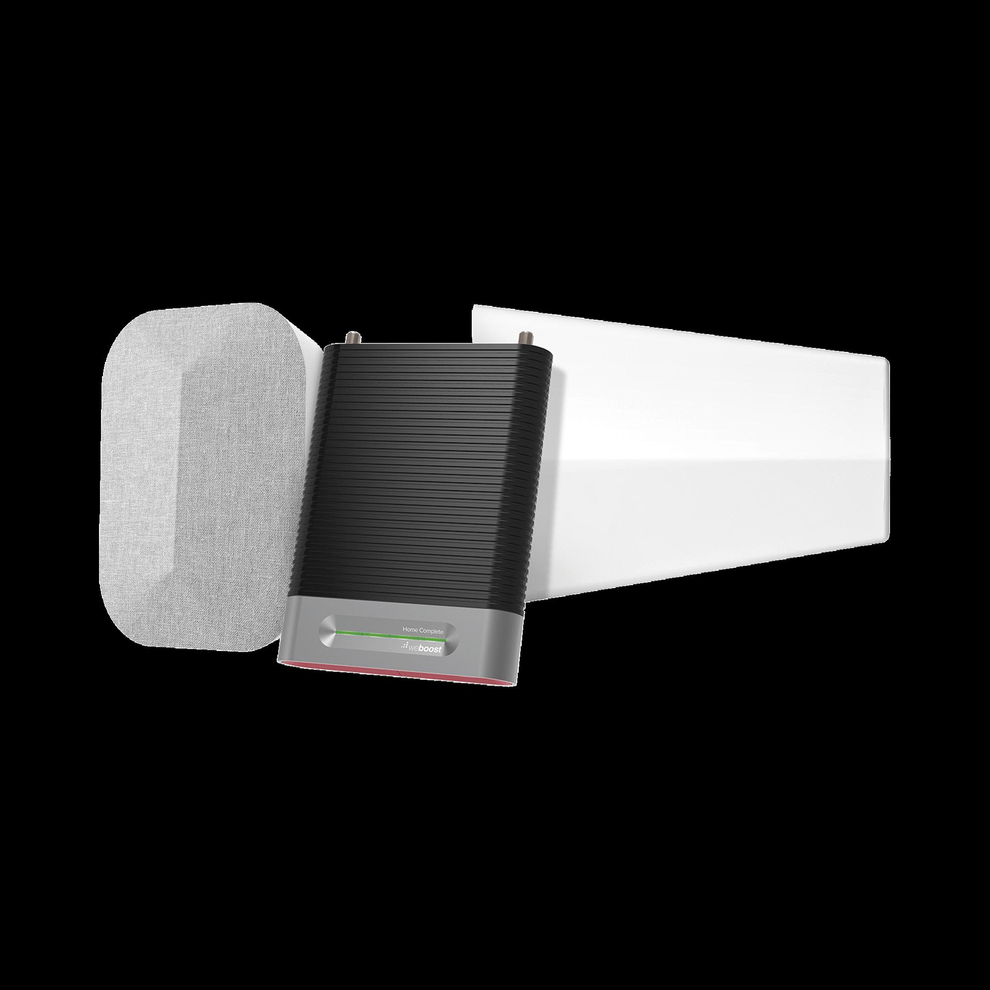 KIT Amplificador de Señal Celular, HOME COMPLETE Reacondicionado para la venta en México (equipo totalmente nuevo, no ha sido reparado) | Mejora la Señal Celular de todos los Operadores | Cubre áreas de hasta 2780 metros cuadra