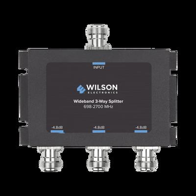 Divisor de 3 salidas, 50 Ohm, 700-2700MHz conector N-Hembra
