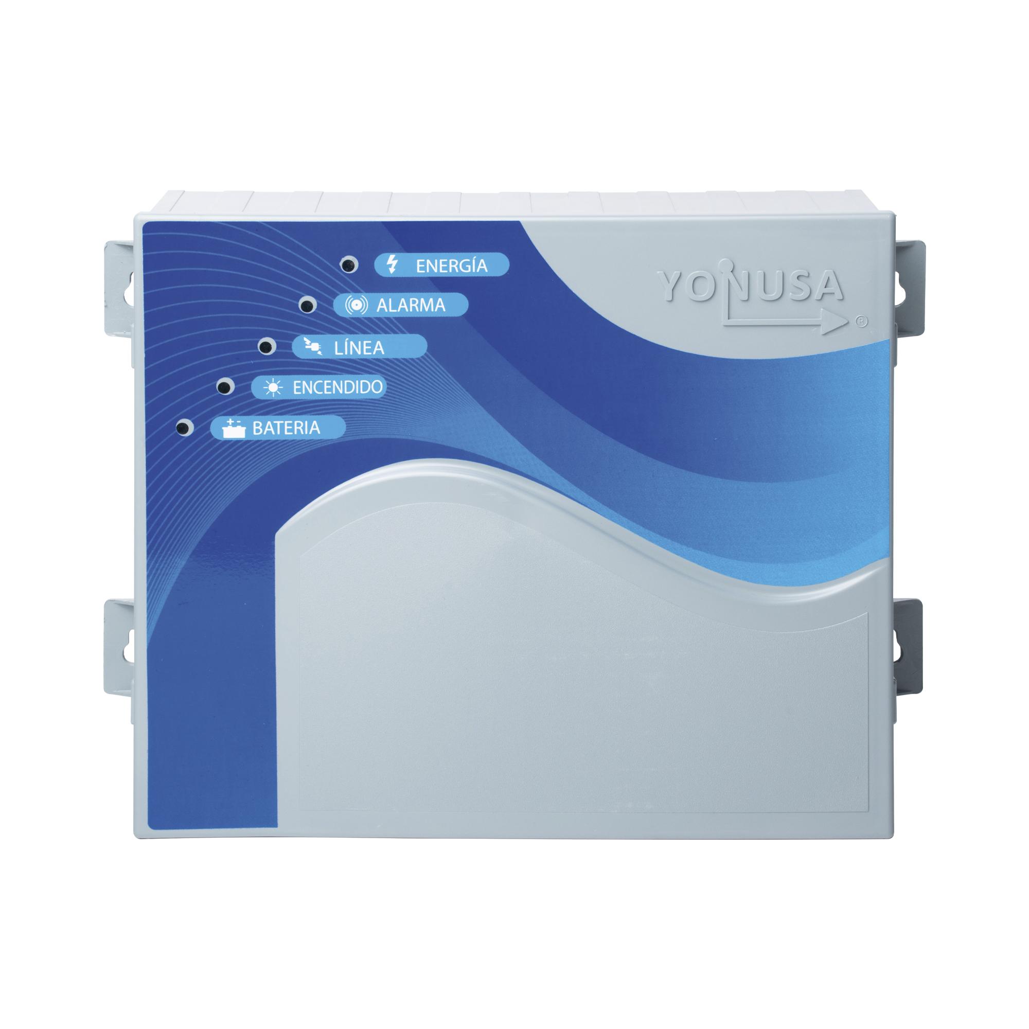Energizador ANTIPLANTAS de 10,000Volts-1.2JOULES/10000 Metros lineales de protección/Activado por Atenuación de voltaje,Corte de línea o Aterrizamiento de la línea/Integración a panel de Alarma.