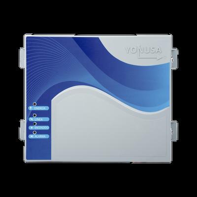 Energizador con tecnología SMT de 12,000Volts-1Joule/ 2500Mts Lineales de Protección / Ajuste Tiempo de Sirena / Alerta por corte o caída a tierra.