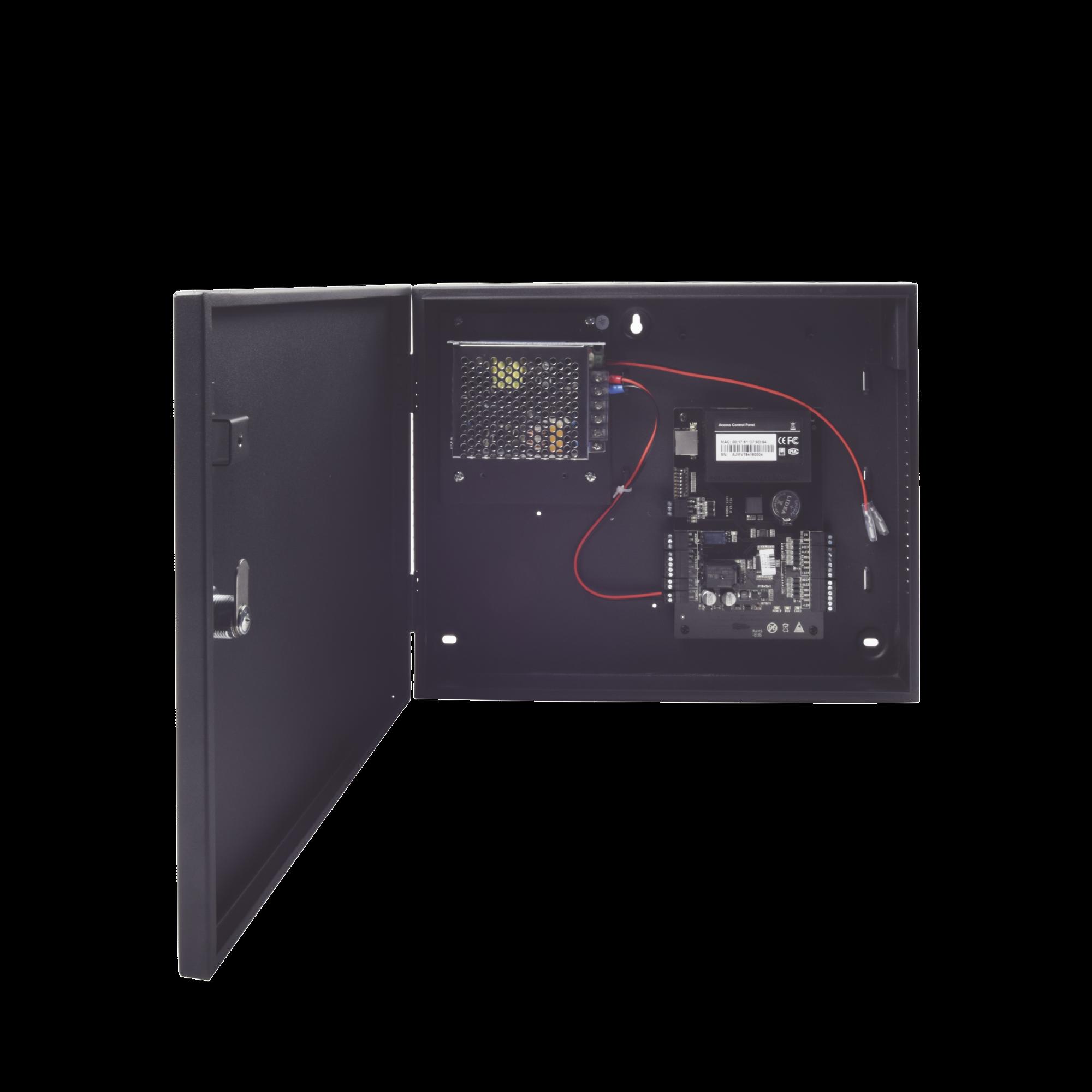 C3100 Panel de Control de Acceso para 1 Puerta / Facil Administracion / 30,000 Tarjetas / Incluye Gabinete y Fuente de Alimentacion 12VCD/3A / Software GRATIS