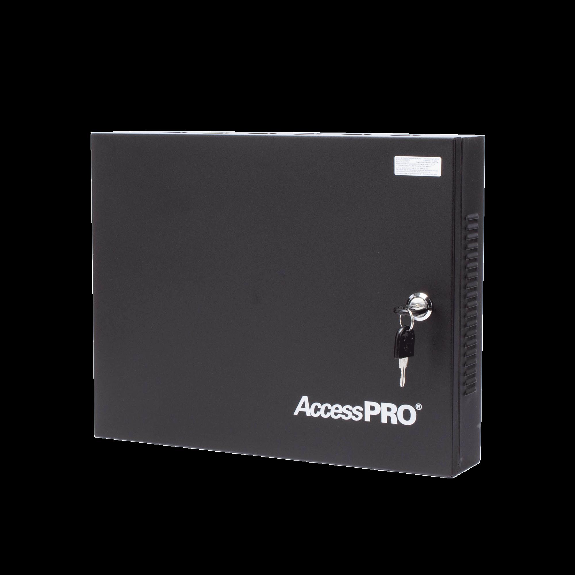 C3200 Panel de Control de Acceso para 2 Puertas / Fácil Administración / 30,000 Tarjetas / Incluye Gabinete y Fuente de Alimentación 12VCD/3A / Software GRATIS