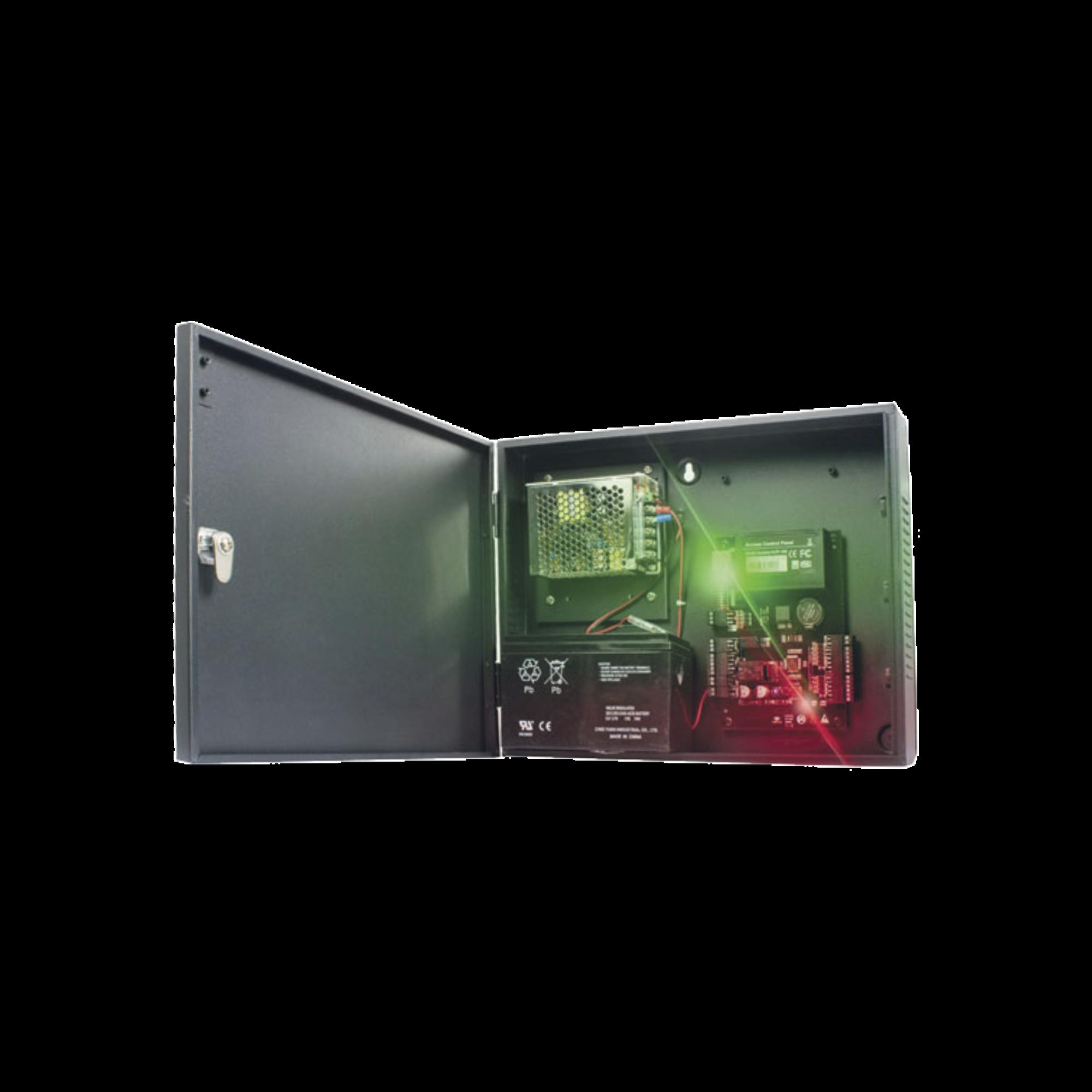 C3400 Panel de Control de Acceso para 4 Puertas / Fácil Administración / 30,000 Tarjetas / Incluye Gabinete y Fuente de Alimentación 12VCD/3A / Software GRATIS