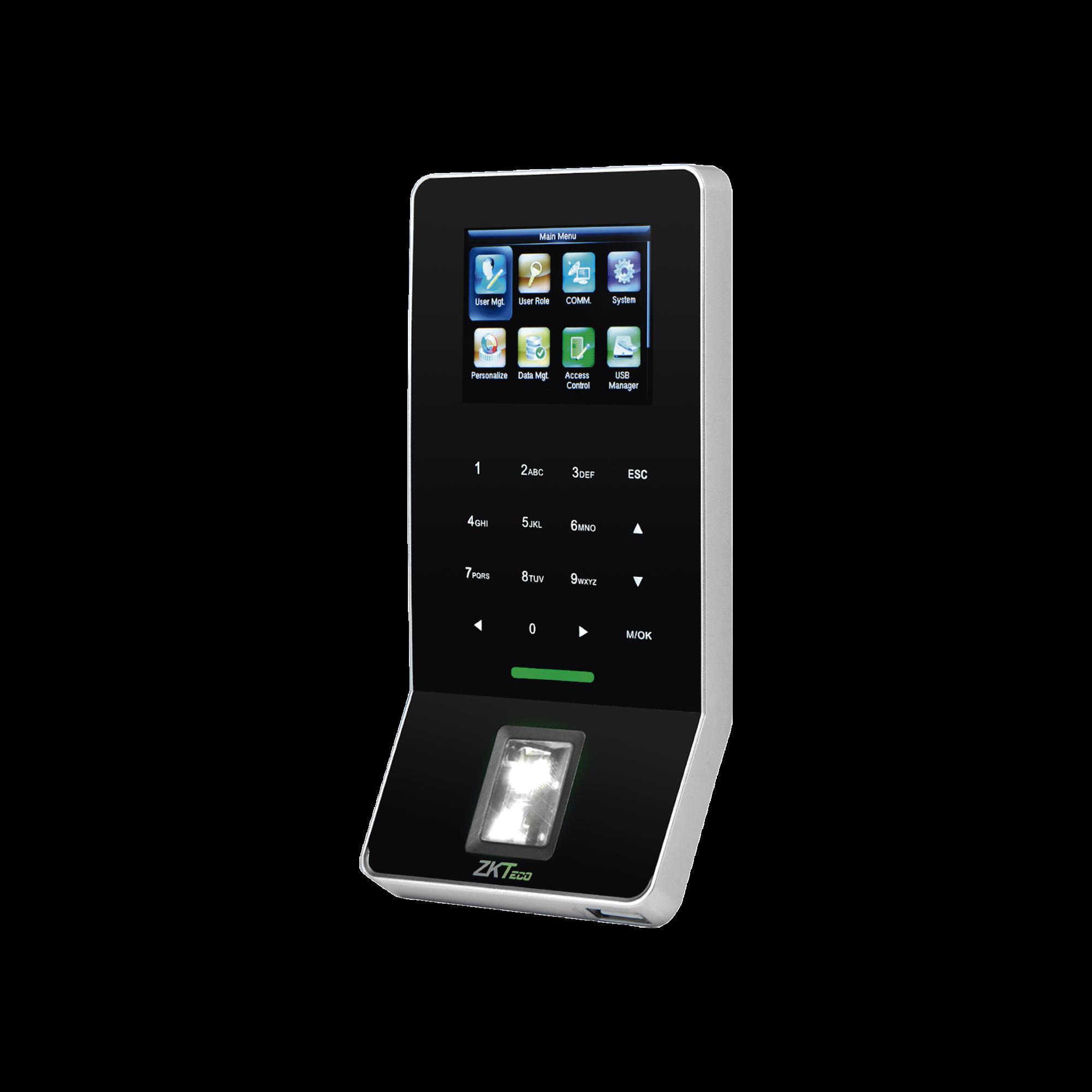 Lector Biométrico de Huella / PROXIMIDAD / SILKID  / 3000 Usuarios / ADMS Gratis / WiFi / Teclado táctil / Estético / Soporta DDNS con BIOTIME 7