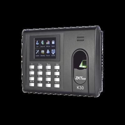 Checador de Huella y Tarjetas para Tiempo y Asistencia con Batería de Respaldo/ Comunicación TCP/IP / Reportes directo a Excel por USB (Función SSR) / Salida de relevador para cerradura