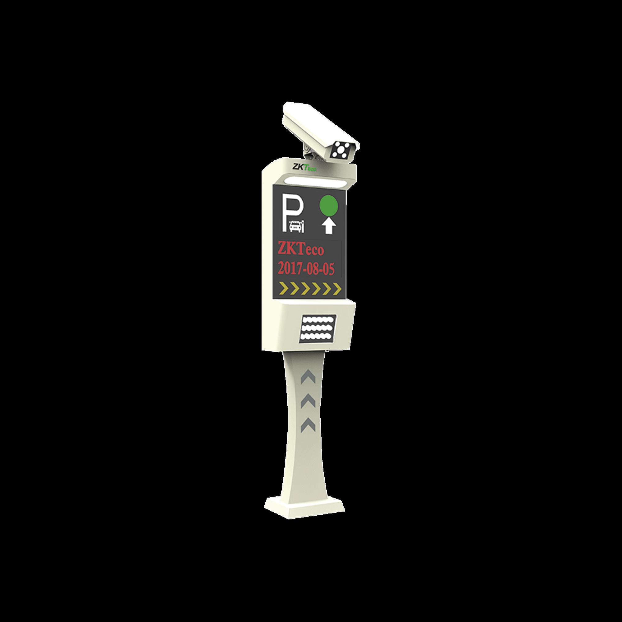 Control de acceso vehicular con RECONOCIMIENTO DE PLACAS / Administracion de estacionamientos / LPR / Salida de relevador / Requiere ZKBiosecurity