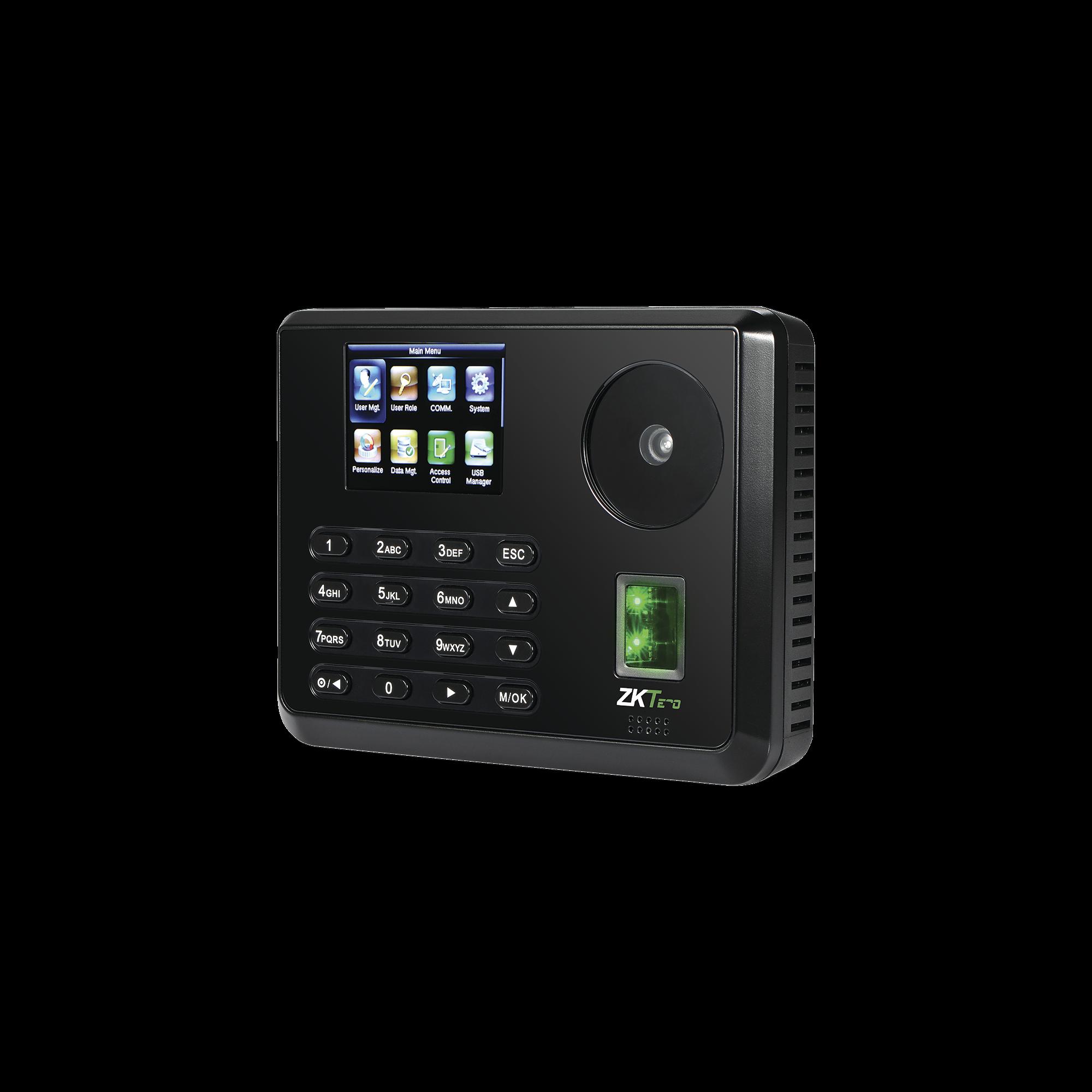 Terminal Biométrica de Palma y Huella Digital para Gestión de Asistencia y Control de Acceso