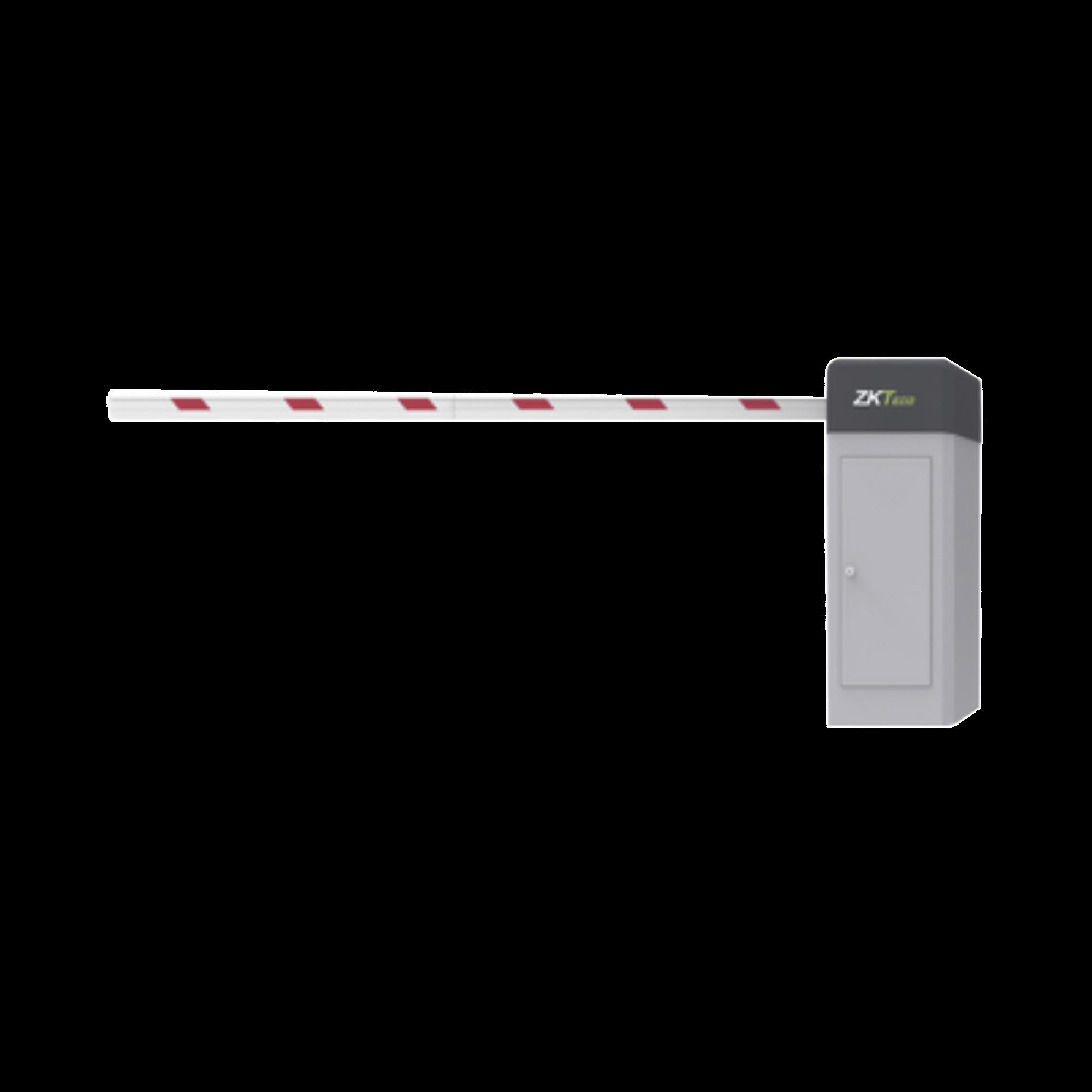 Barrera vehicular DERECHA con brazo ajustable a 4mts / 3 segundos en apertura / INCLUYE BRAZO