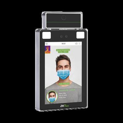 Lector de Rostros para Control detección de temperatura  / Acepta Selfies / Reconocimiento a 2.5 metros / ADMS GRATIS