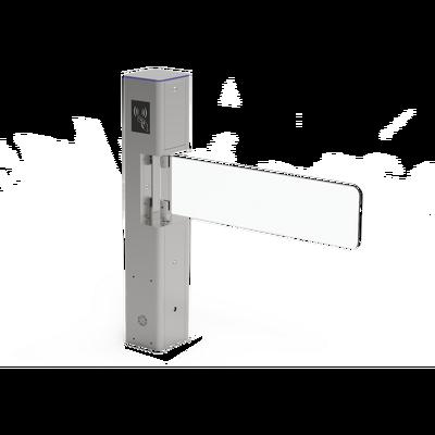 Torniquete Tipo Bandera / Fabricado en Acero / Hoja de Cristal Templado / Acabado de Lujo / Iluminación LEDs / Base para Lectora