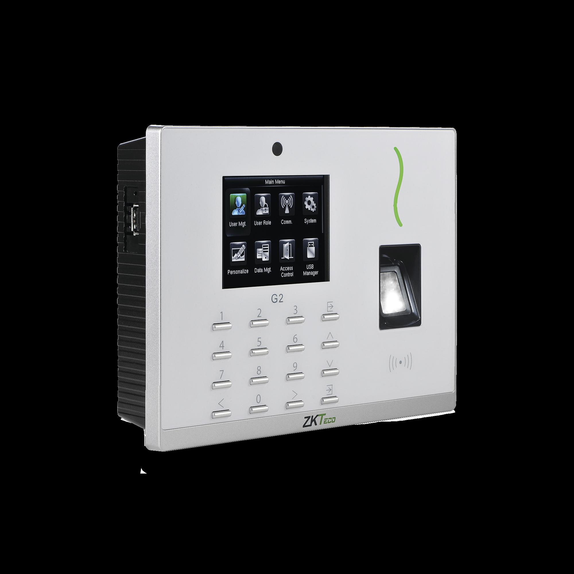 Lectora Biométrica / 20,000 Huellas y Tarjetas / Sensor SilkID / PUSH ADMS / Pantalla 3.5 / Salida de Relevador