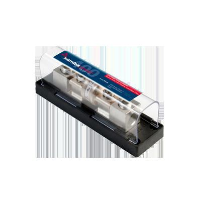 Base y Fusible 400A para banco de baterias (Bajo Pedido)