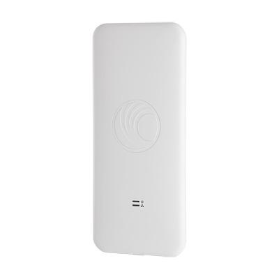 Access Point WiFi cnPilot e500 para exterior, IP67 grado industrial, Filtros para coexistencia con redes LTE, doble banda, antena omidireccional y puerto PoE secundario