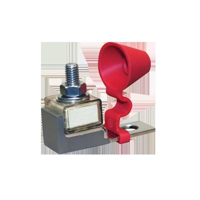 Base y Fusible 100A para banco de baterias (Bajo pedido)