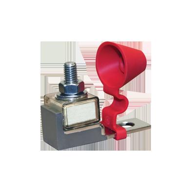 Base y fusible 200A  para banco de baterías (Bajo Pedido)