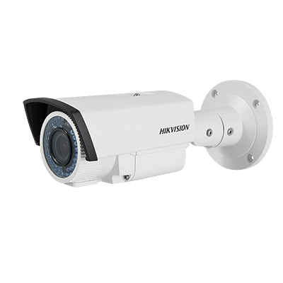 Cámara tipo bala IR día-noche real ICR, varifocal 2.8 a 12mm, alta resolución 700 TVL, nueva tecnología DIS