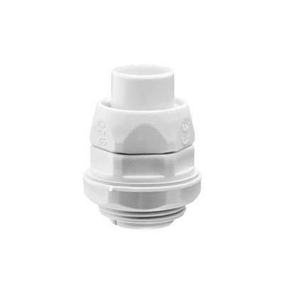 Conector (Racor) de tubería flexible a caja, PVC Auto-Extinguible de 25 mm, IP55