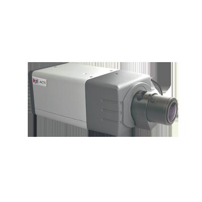 Cámara IP tipo caja de 1 MP HDTV-720p día-noche real WDR básico con lente varifocal