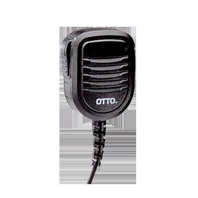 Micrófono-Bocina Serie PRO 100 para MOTOROLA EP350- 450- 450S, MAG ONE, DEP450, DTR620, RVA50, VLR150 y HYTERA TC500- 508- 518- 580- 600- 610- 700