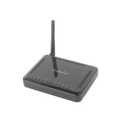 Ruteador Inalámbrico 802.11 b-g-n, 150 Mbps, 2.4 GHz, Switch integrado.