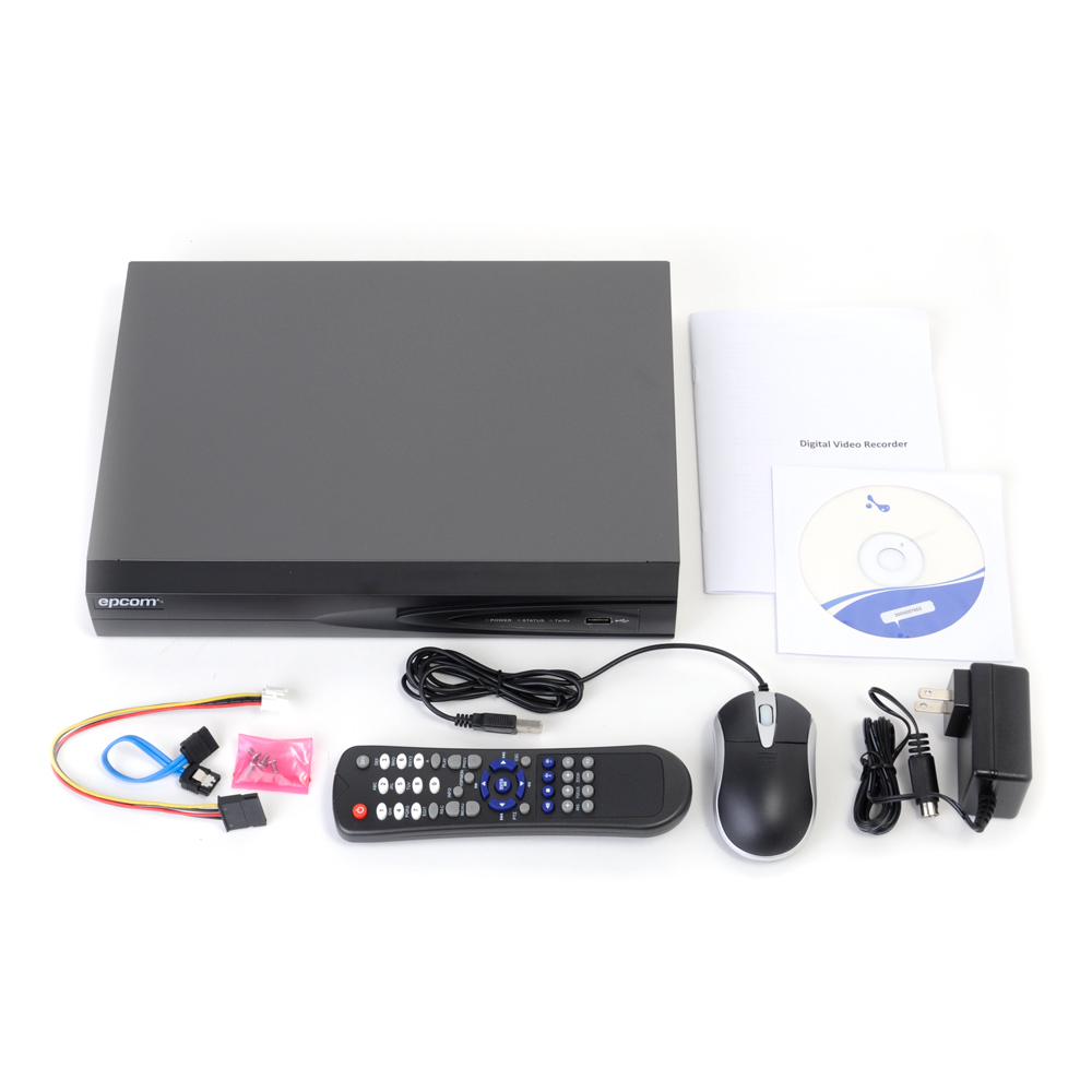 DVR Epcom Trihibrido con tecnologia HDCVI en Monterrey