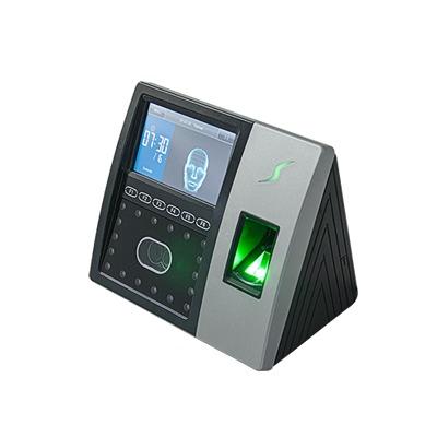 Terminal de reconocimiento Facial con lector de Huellas y Tarjetas / Soporta 1,200 rostros / Control de Acceso / Asistencia