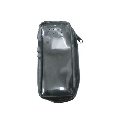 Funda Reforzada de piel, lazo para cinto, ventana plastica y cierre lateral / IC-F3161DS, IC-F4161DS.