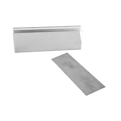 Montaje U para Puertas de Vidrio/ 3/4 de Grosor/Para chapas magnéticas de 600 y 750 lbs / Ajuste por Opresores