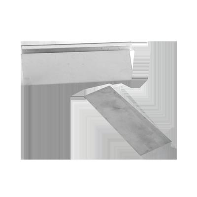 """Bracket para Puertas de Vidrio de 1-2"""" de Grosor Utilizando Chapa con Fuerza de Sujeción de 600 y 750 lbs. Compatible con  8371."""