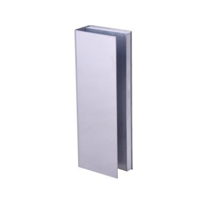 Montaje U para Puertas de Vidrio/ 3/4 de Grosor/ Para Chapas Magneticas de 1200 lbs./ Ajuste por Opresores