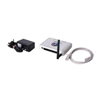 Hotspot con WiFi 2.4 GHz integrado para interior, ideal para la venta de códigos de acceso a Internet, MIMO 2x2, 1 puerto WAN - 4 puertos LAN