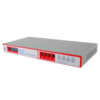 Hotspot con capacidad de hasta 500 usuarios concurrentes, un Throughput de 200 Mbps y configuración sencilla y rápida
