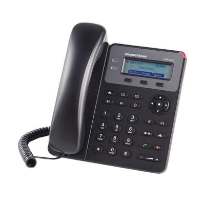 Teléfono IP SMB de 2 Líneas, 1 cuenta SIP con 3 teclas de función programables y conferencia de 3 vías. PoE