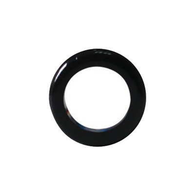 Pasacables (Grommet) para protección de cable en bordes afilados, color negro 23.7mm (100pzs) (4007-99005)