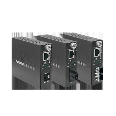 Convertidor de Medios 10-100-1000BASE-T a 1000Base-SX (SC) 220m-550m