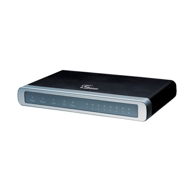 Adaptador VoIP GrandStream de 8 FXO