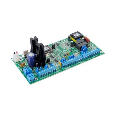 Tarjeta de Control para Panel de Alarma de  6 zonas cableadas opción de comunicación RADIO/Teléfono/GSM