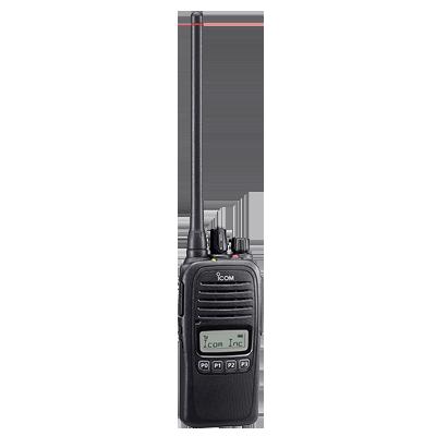 Radio portátil analógico, opera en (N)12.5kHz, 4W de potencia, 128 canales, sumergible IP67 rango de frecuencia 400-470 MHz, hombre caído y trabajador solitario incluido