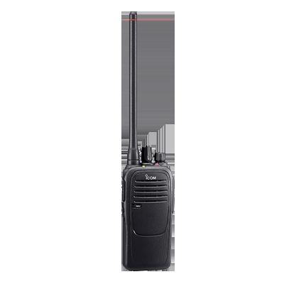 Radio portátil analógico, opera en (N)12.5kHz, 4W de potencia, 16 canales, sumergible IP67, rango de frecuencia 400-470 MHz, hombre caído y trabajador solitario incluido