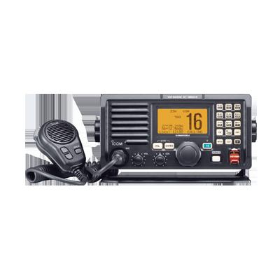 Radio Móvil Marino, 25W, Tx:156.025-157.425MHz, Rx:156.050-163.275MHz, compatible con encriptor de voz UT112, compatible con GPS, capacidad de llamada selectiva DSC, canales CAN,USA,INT