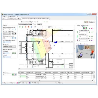 IP Video System Design Tool / Herramienta de Diseño de Sistemas de Videovigilancia