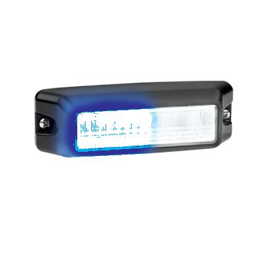 Luz Auxiliar de 6 LED, en color Azul-Claro, con mica transparente