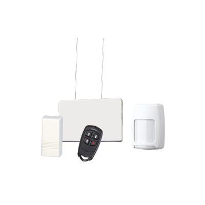 Kit de Receptor y Sensores Inalámbricos Para Panel Vista. Magnéticos y de Movimiento mas Control Remoto