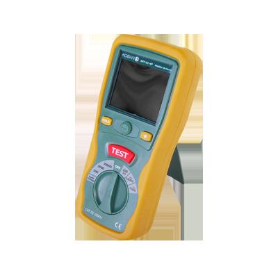 Medidor de resistencia a tierra digital a 3 hilos  CAT III - 1000 V.